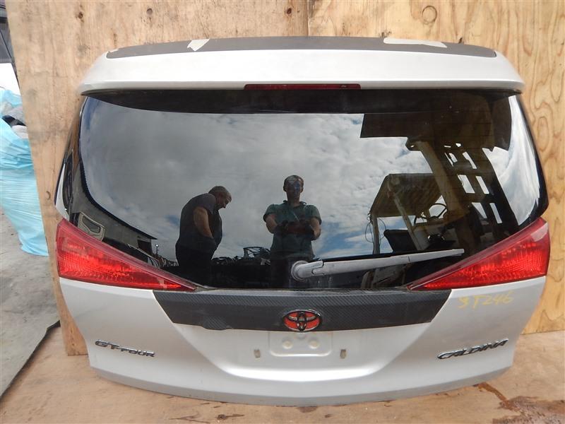 Дверь 5-я Toyota Caldina ST246 3S-GTE