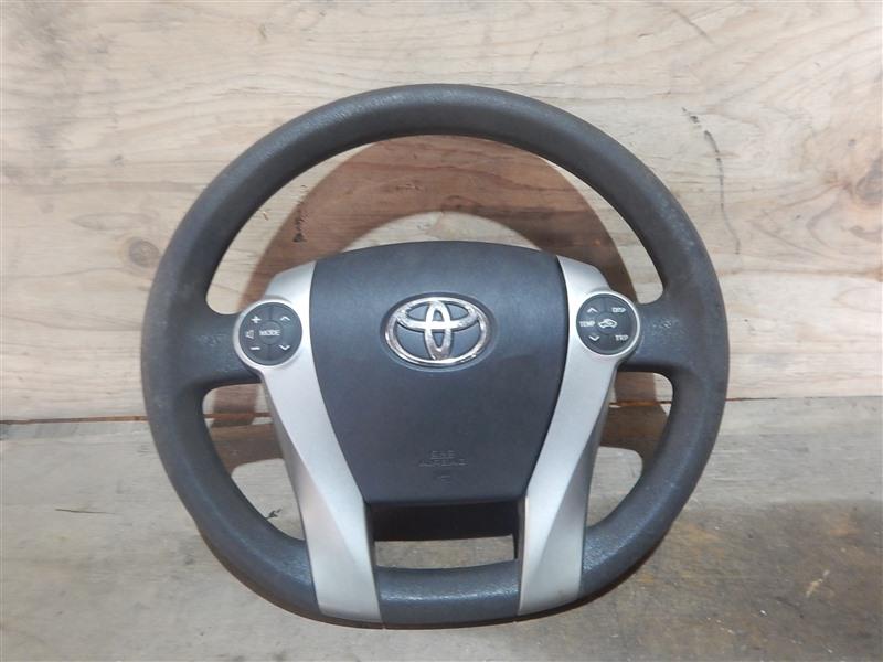 Airbag на руль Toyota Prius ZVW30 2ZR-FXE 2012