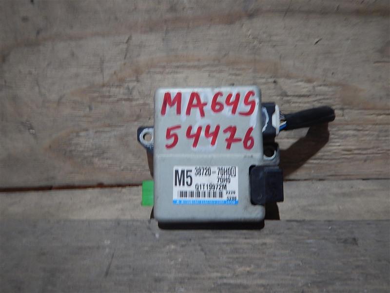 Блок управления рулевой рейкой Suzuki Wagon R Solio MA64S K10A 2002