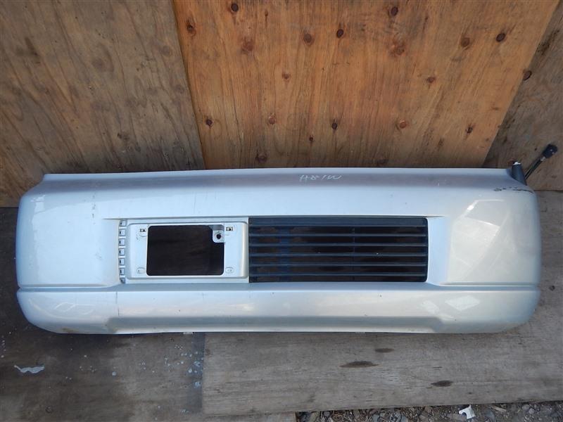 Бампер Mitsubishi Ek Wagon H81W 3G83 2003 передний