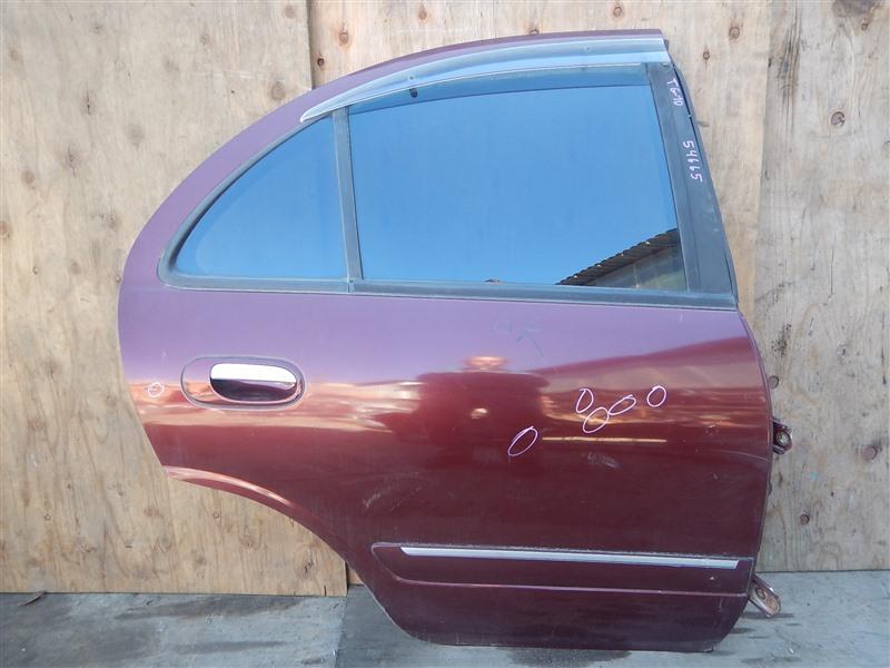 Дверь Nissan Bluebird Sylphy TG10 QR20DD задняя правая