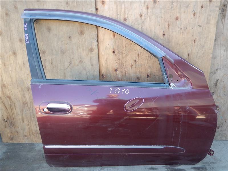 Дверь Nissan Bluebird Sylphy TG10 QR20DD передняя правая