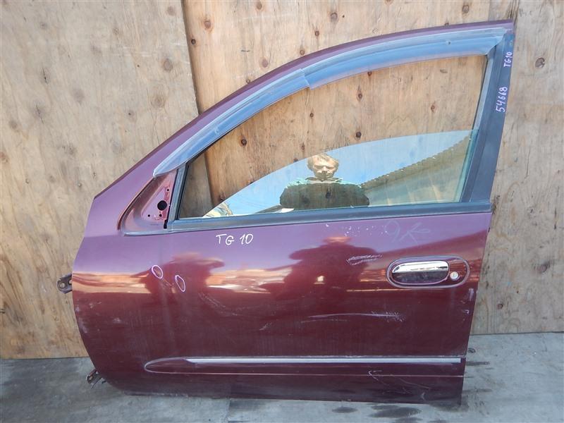 Дверь Nissan Bluebird Sylphy TG10 QR20DD передняя левая
