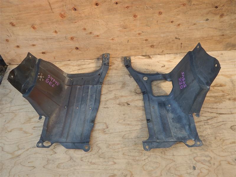 Защита двс Honda Fit GE6 L13A 2008