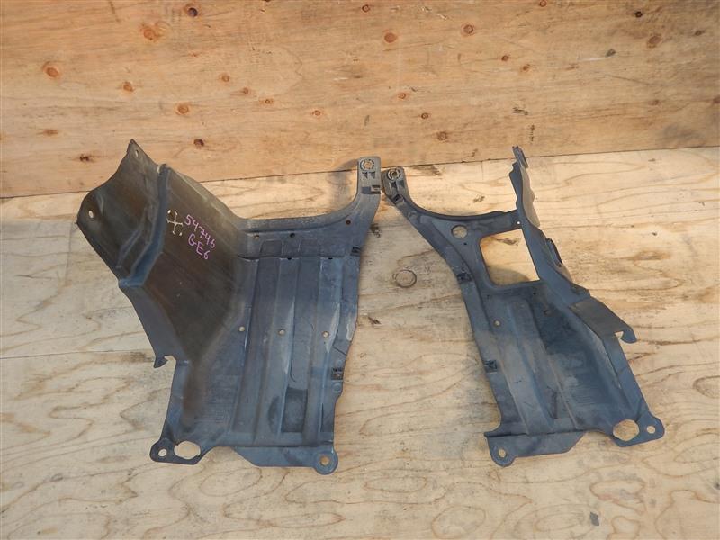 Защита двс Honda Fit GE6 L13A 2009