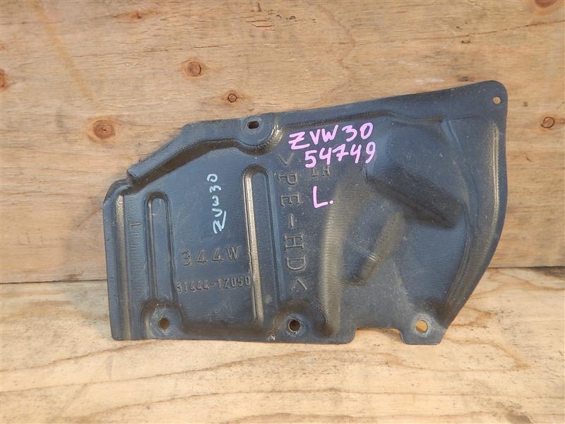 Защита двс Toyota Prius ZVW30 2ZR-FXE 2012 левая