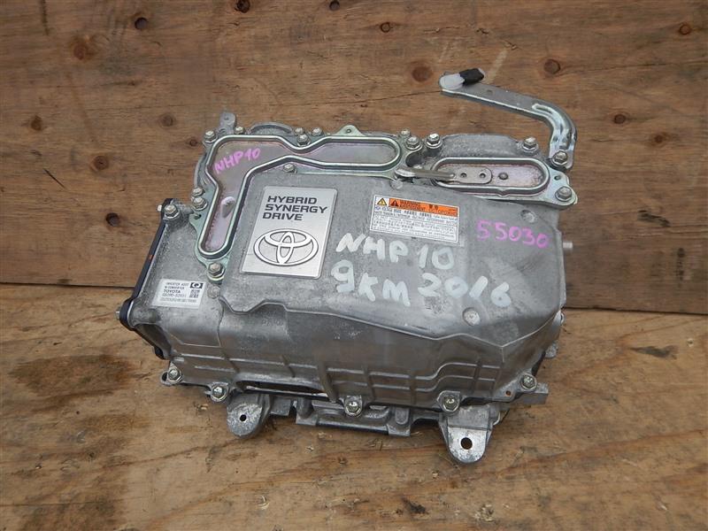 Инвертор Toyota Aqua NHP10 1NZ-FXE 2016
