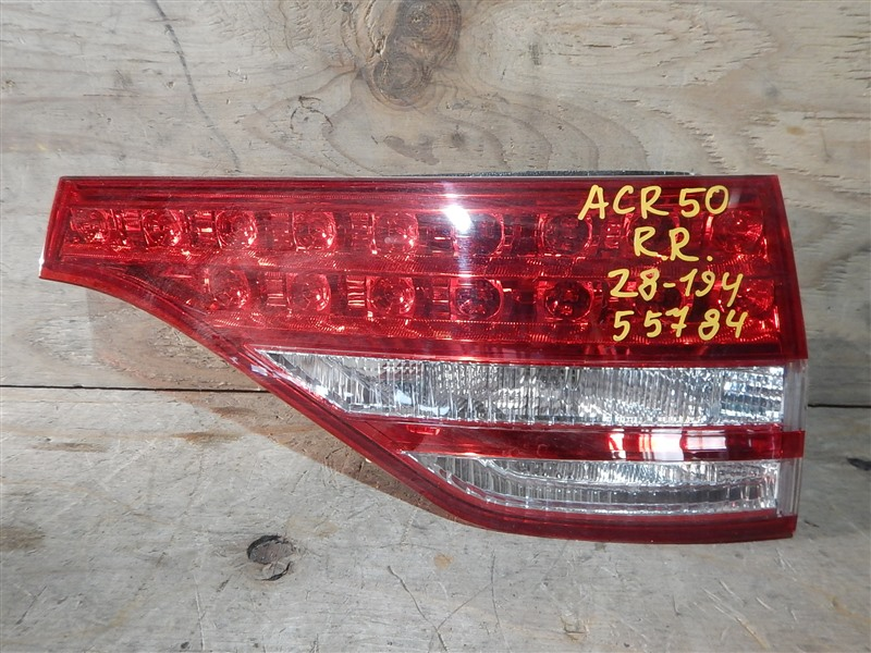 Стоп-вставка Toyota Estima ACR50 2AZ-FE задняя правая