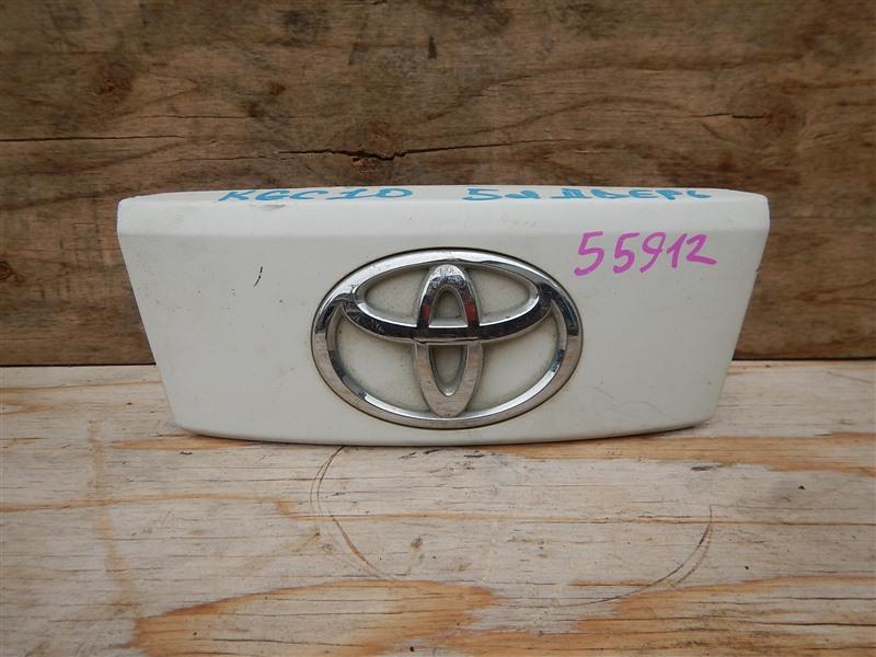 Ручка двери задней Toyota Passo KGC10 1KR-FE 2009 задняя