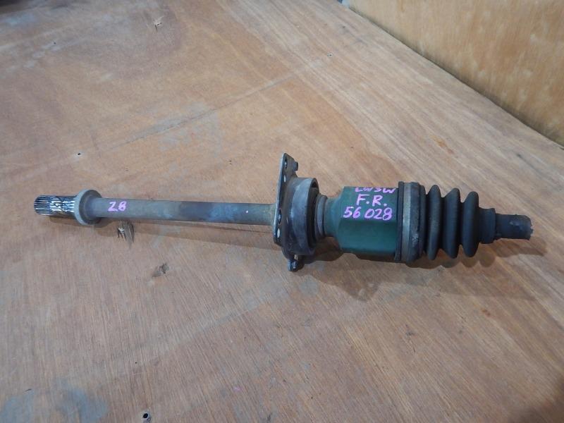 Привод Mazda Mpv LWEW FS передний правый