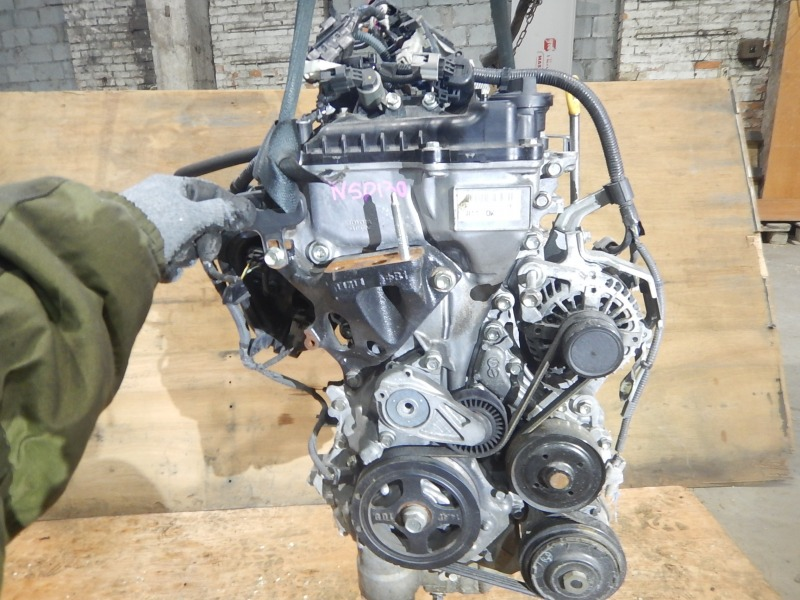 Двс Toyota Vitz NSP130 1NR-FE