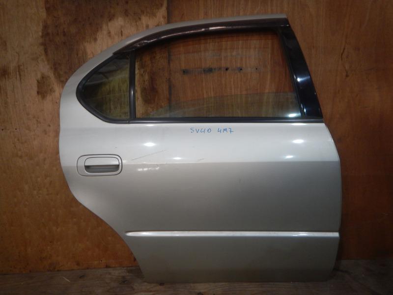 Дверь Toyota Camry SV40 4S-FE 1997 задняя правая