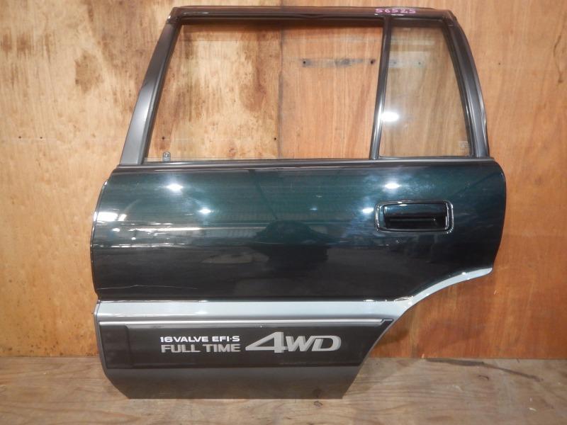 Дверь Toyota Carib AE95 4A-FHE 1994 задняя левая