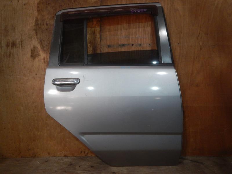 Дверь Nissan Cube AZ10 CGA3 2001 задняя правая