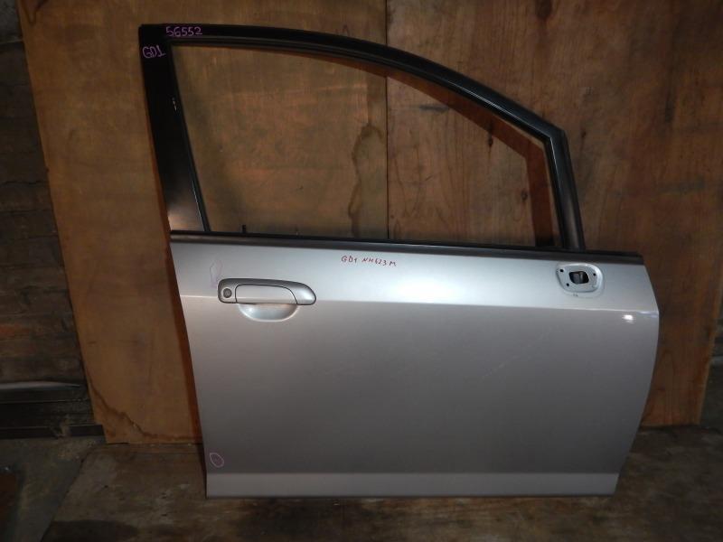 Дверь Honda Fit GD1 L13A передняя правая