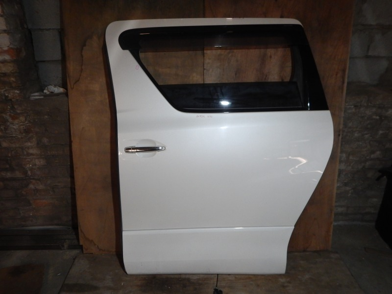 Дверь Toyota Vellfire ANH25 2AZ-FE 2010 задняя левая