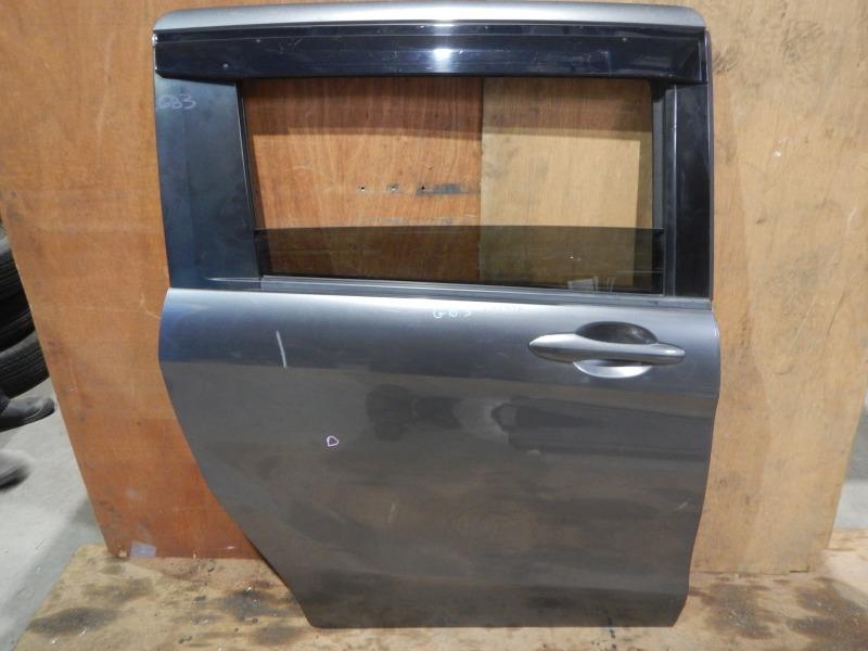 Дверь Honda Freed GB3 L15A 2010 задняя правая