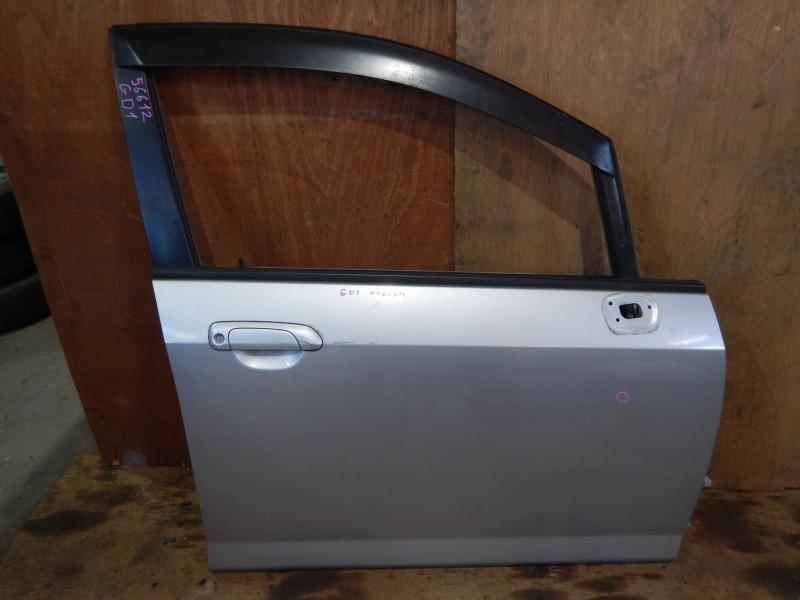 Дверь Honda Fit GD1 L13A 2005 передняя правая