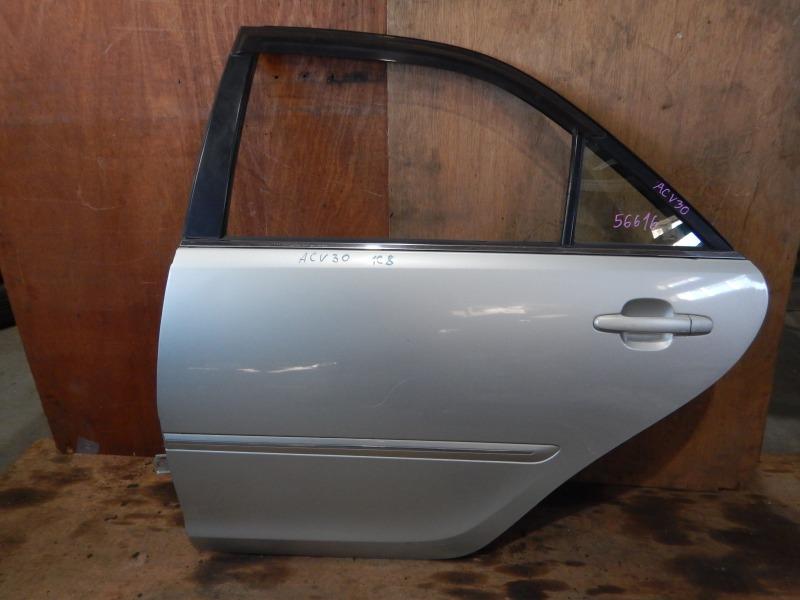 Дверь Toyota Camry ACV30 2AZ-FE задняя левая