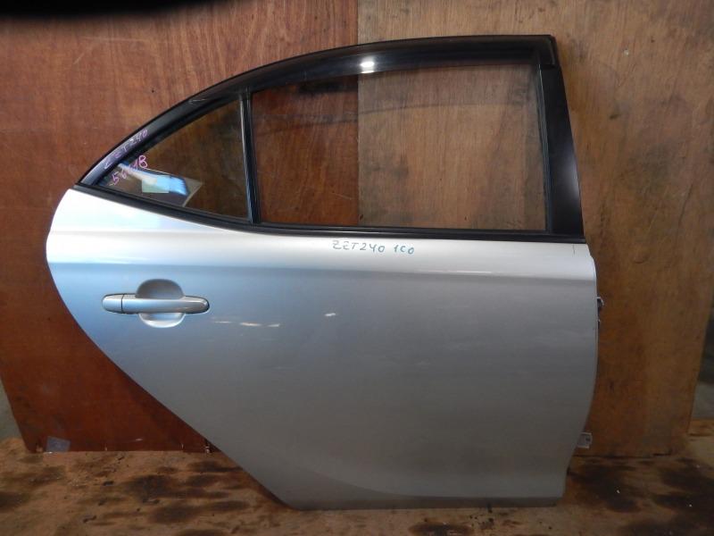 Дверь Toyota Allion ZZT240 1ZZ-FE 2003 задняя правая