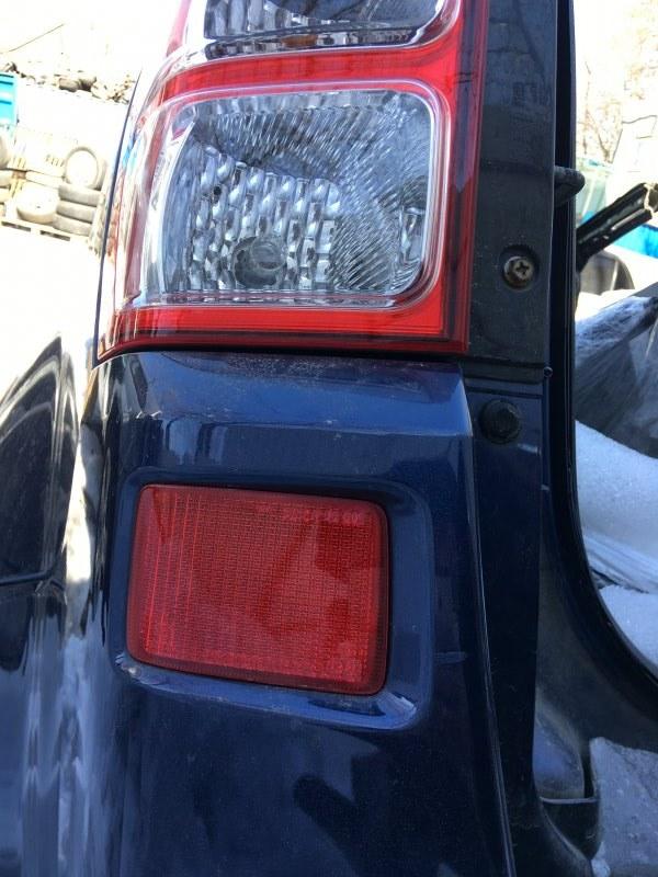Катафот бампера Suzuki Grand Vitara TD54W J20A. H27A. J24B 2005 задний левый