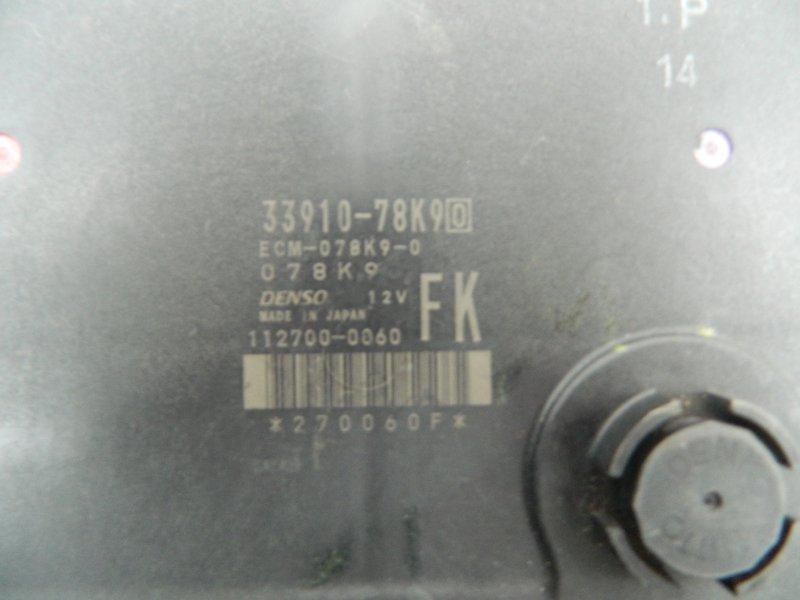 Блок управления efi Suzuki Grand Vitara TDA4W J24B 2005