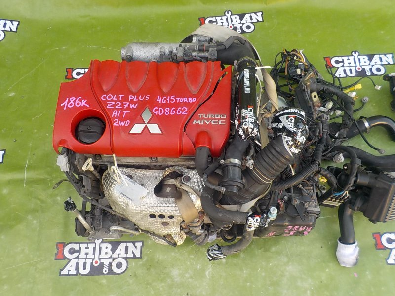 Двигатель Mitsubishi Colt-Plus Z27W 4G15