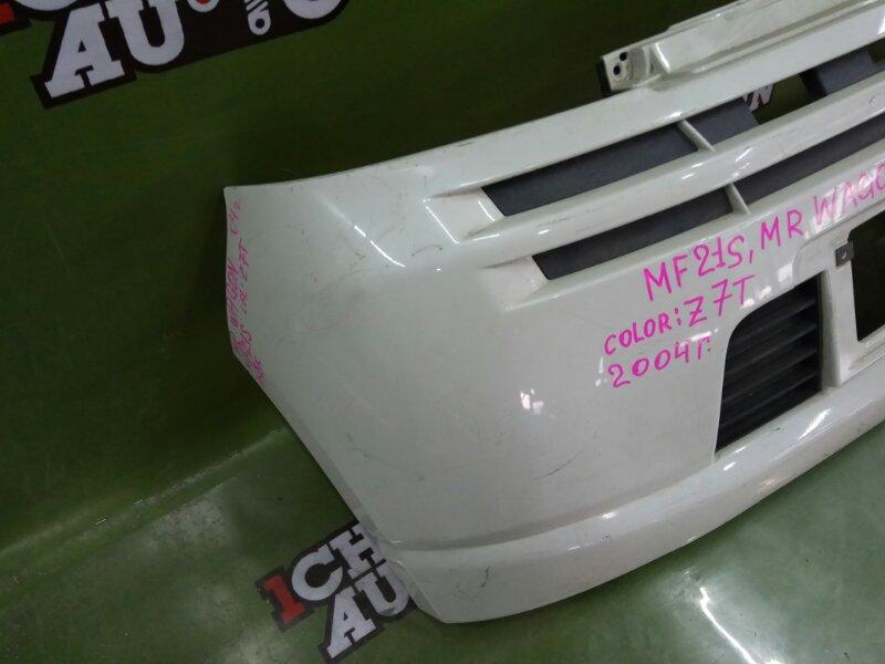 Бампер передний SUZUKI MR WAGON MF21S K6A