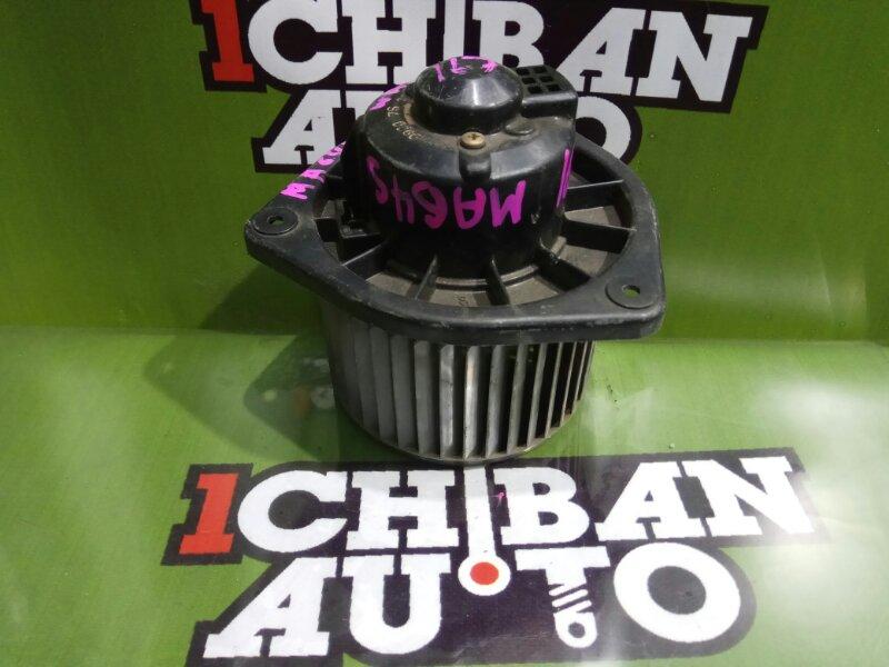 Мотор печки SUZUKI WAGON R MA64S 194000-1270 контрактная