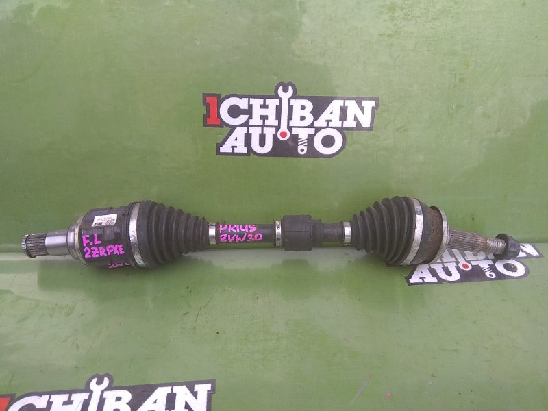 Привод передний левый TOYOTA PRIUS ZVW30 2ZR-FXE 43420-47030 Б/У