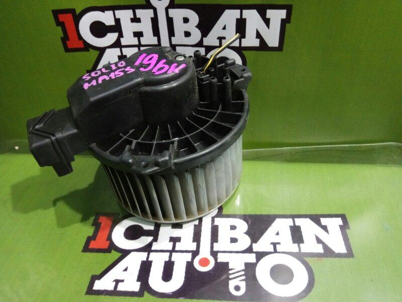 Мотор печки SUZUKI SOLIO MA15S K12B 872700-1080 контрактная