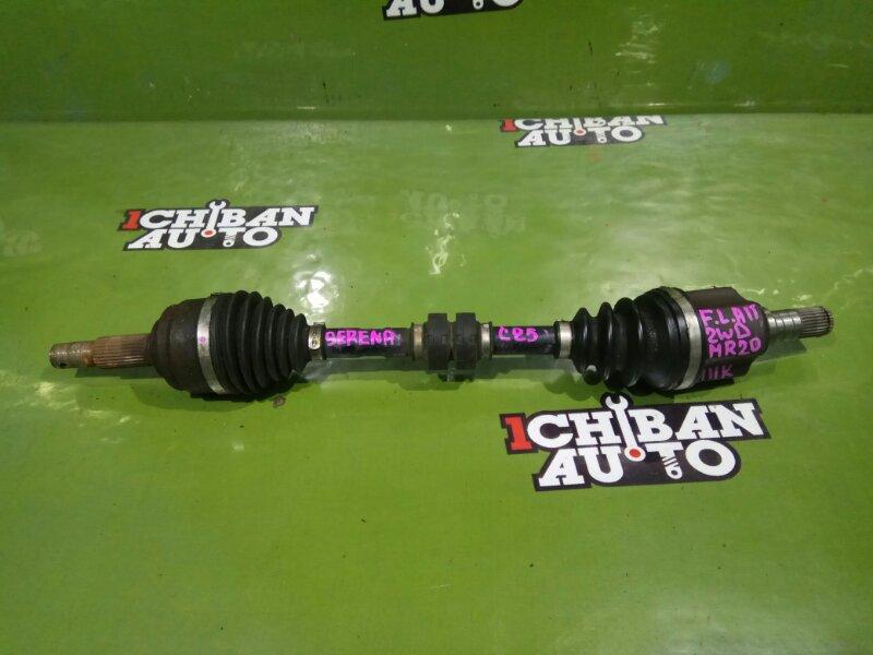 Привод передний левый NISSAN SERENA C25 MR20DE 39101-EN000 контрактная