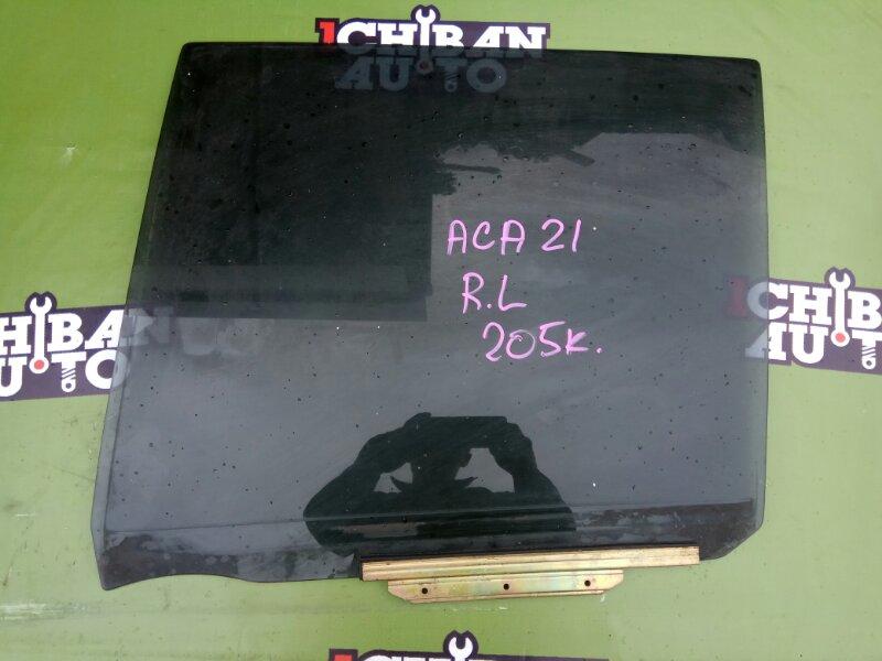 Стекло двери заднее левое TOYOTA RAV4 2001 ACA21 1AZ-FE контрактная