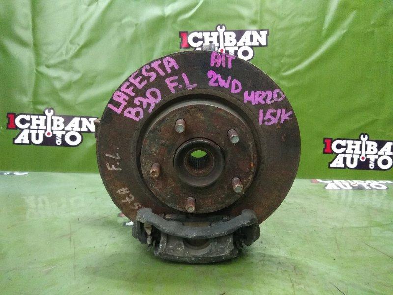 Ступица передняя левая NISSAN LAFESTA B30 MR20DE 40015EN000 контрактная