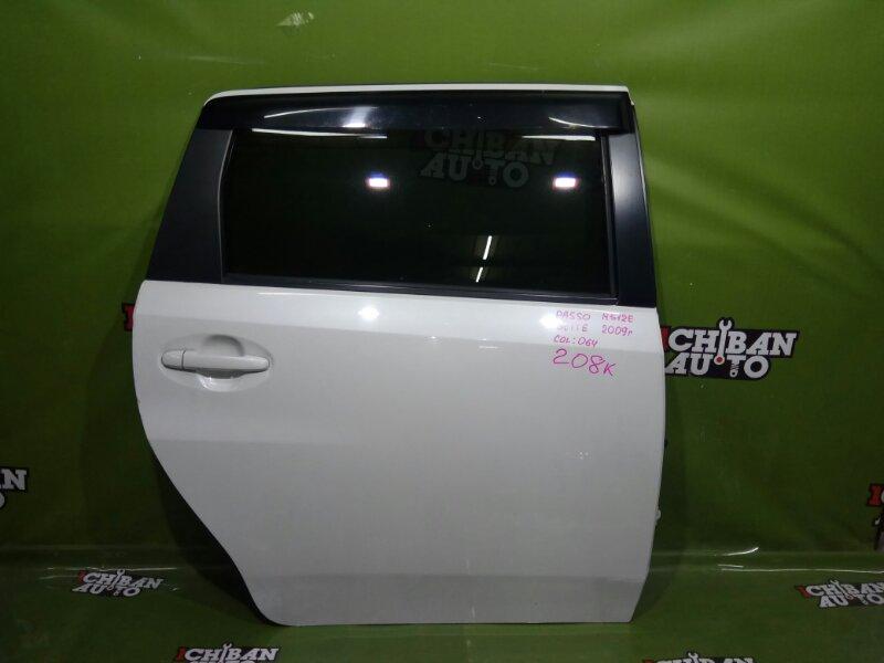 Дверь задняя правая TOYOTA PASSO SETTE 2009 M512E 67003-B1060 контрактная