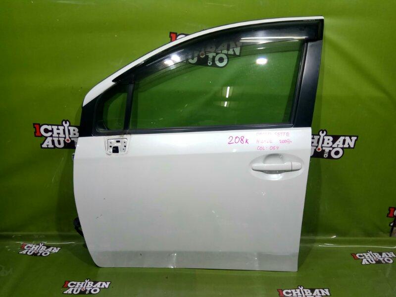 Дверь передняя левая TOYOTA PASSO SETTE 2009 M512E 67002-B1060 контрактная