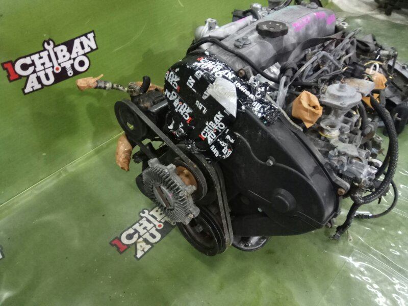 Двигатель Mitsubishi Delica P45V 4D56