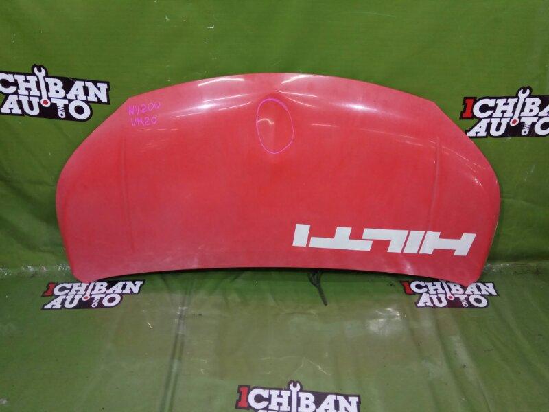 Капот передний NISSAN NV200 VM20 F510MJX0MA контрактная