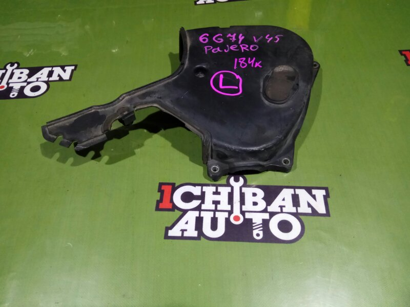 Крышка лобовины левая MITSUBISHI PAJERO V45W 6G74 контрактная