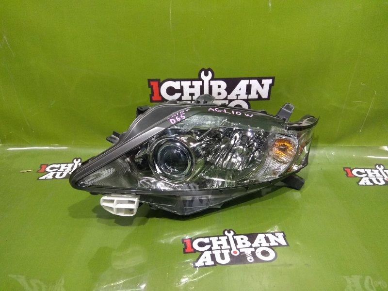 Фара передняя левая LEXUS RX270 AGL10W контрактная