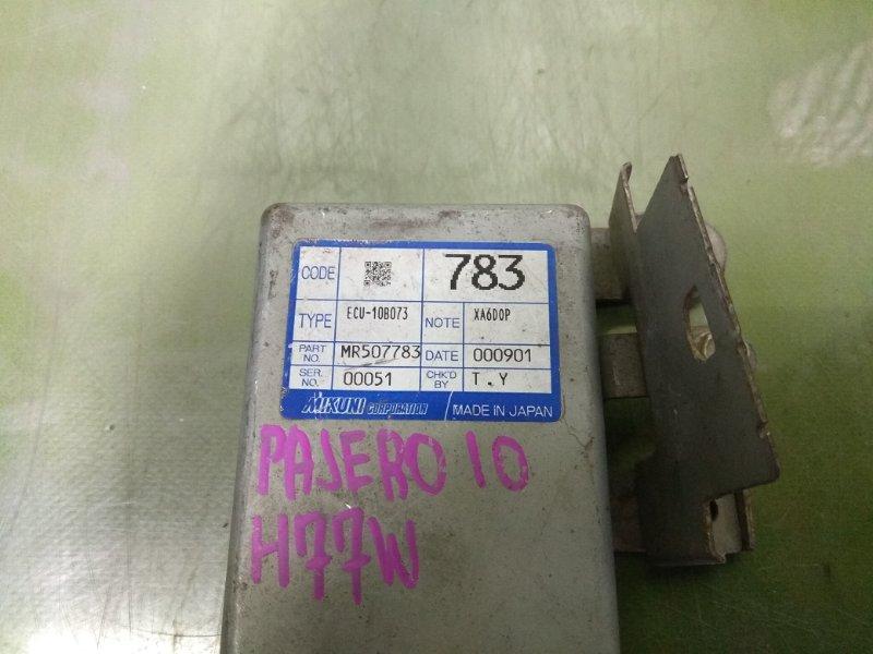 Блок управления акселератором PAJERO IO H77W 4G94