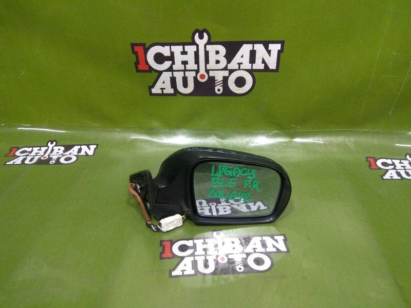Зеркало бокового вида переднее правое SUBARU LEGACY BL5 91031AG220VW контрактная