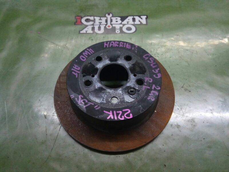 Тормозной диск задний TOYOTA HARRIER GSU35 2GR 42431-48041 контрактная