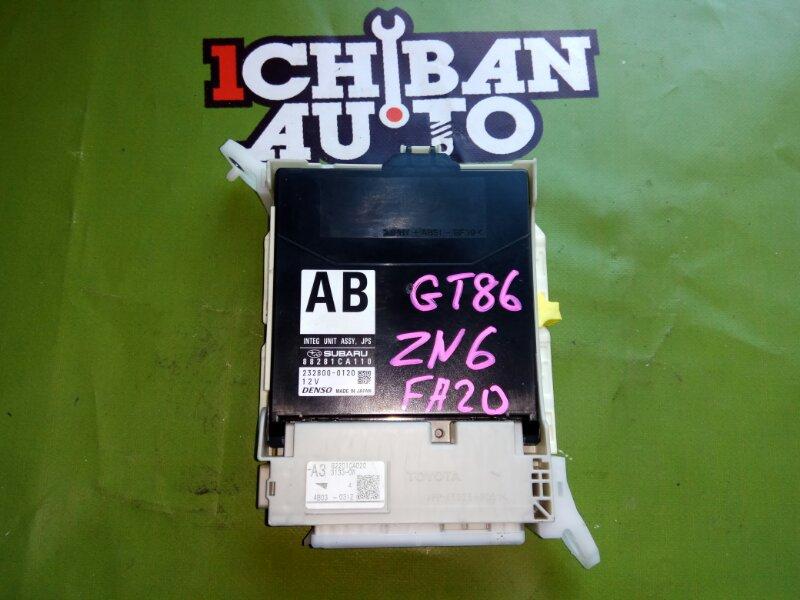 Электронный блок TOYOTA GT86 ZN6 FA20 контрактная