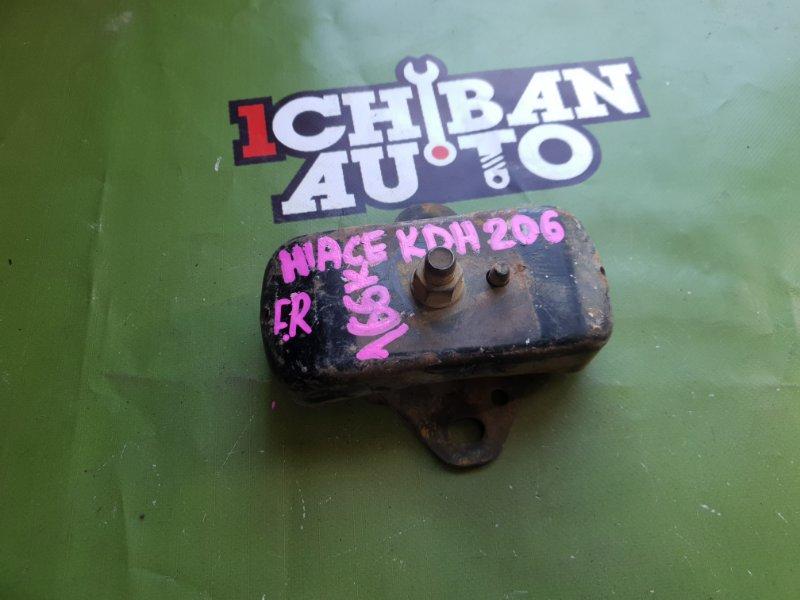 Подушка двигателя передняя правая TOYOTA HIACE KDH206 1KD контрактная