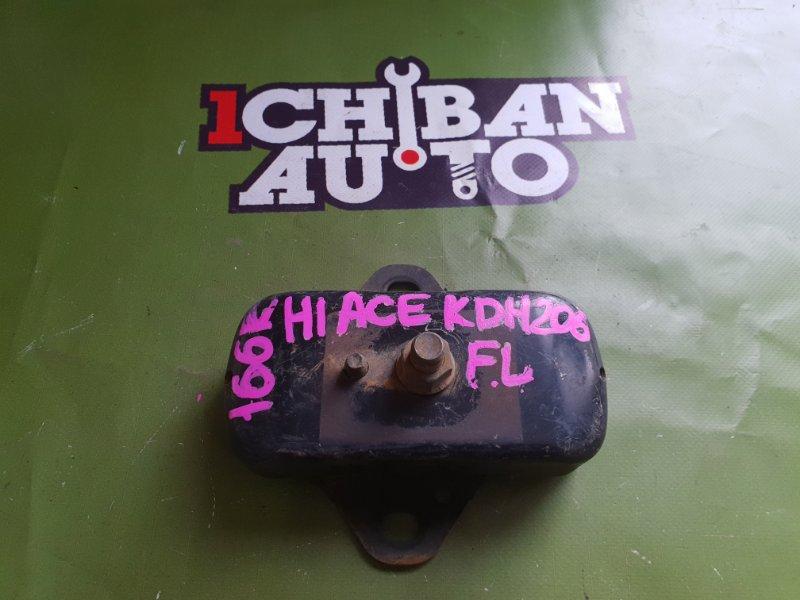 Подушка двигателя передняя левая TOYOTA HIACE KDH206 1KD контрактная