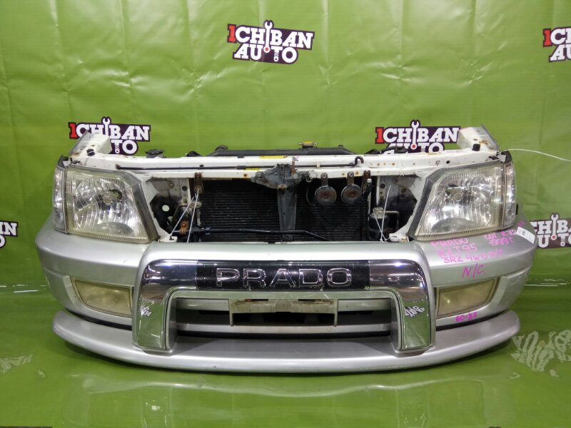 Nose cut Toyota Land Cruiser Prado RZJ95 3RZ-FE 1999 передний