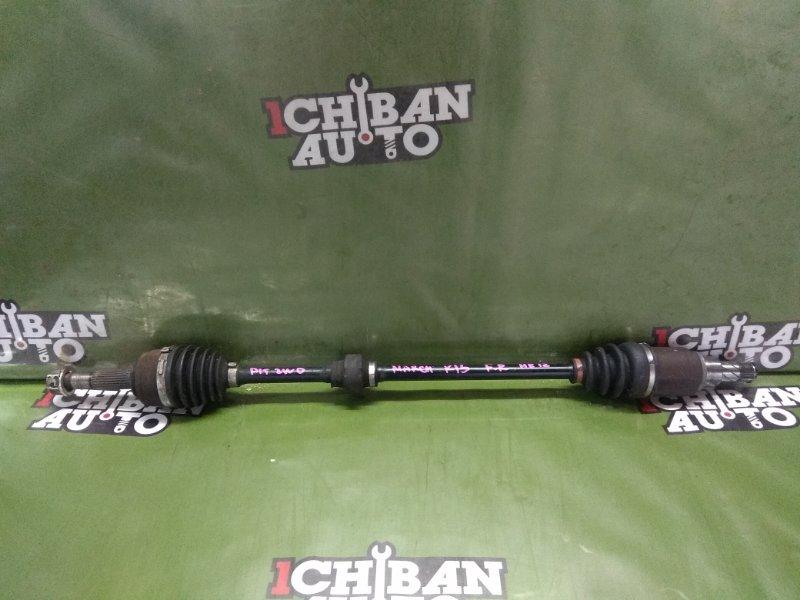 Привод передний правый NISSAN MARCH K13 HR12DE 39100-1HH0C контрактная