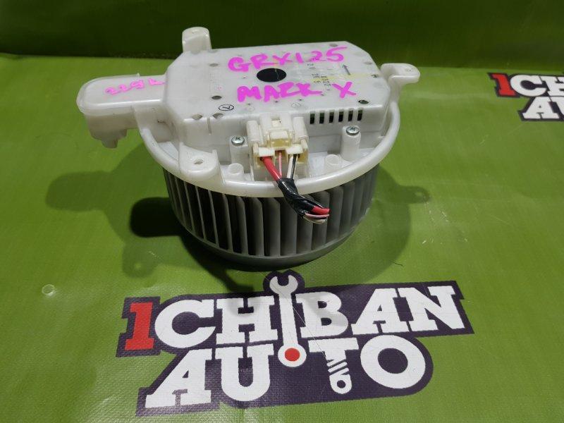 Мотор печки TOYOTA MARK X GRX125 87103-30400 контрактная