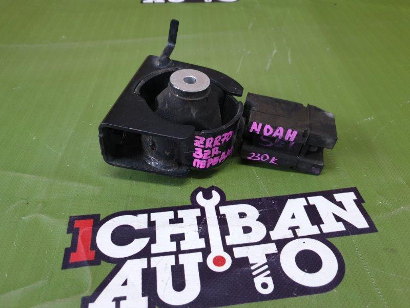 Подушка двигателя передняя TOYOTA NOAH ZRR70 3ZR 1236137040 контрактная